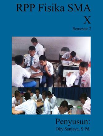 JUAL RPP FISIKA SMA KELAS X Semester 2
