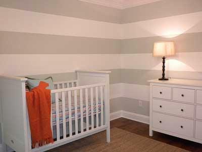 Decoracion actual de moda ideas para decorar y pintar las - Dormitorios pintados a rayas ...