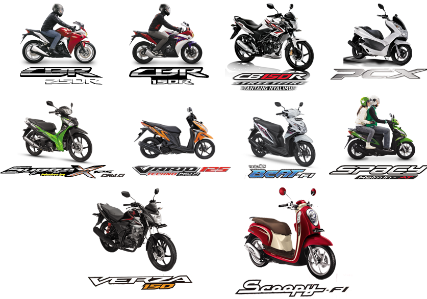 Harga Motor Honda 2015