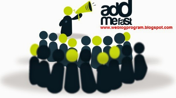 AddMeFast - Weblog Program