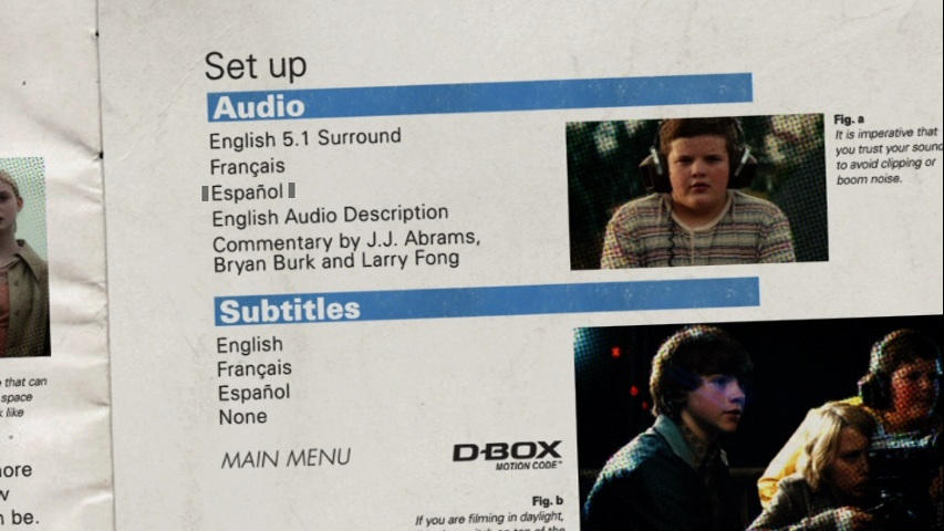 Super 8 DVDR NTSC Español Latino Screenshot