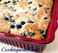 Very Blueberry Coffee Cake