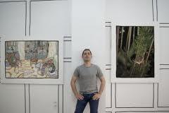 Nuevas Pinturas De Carlos Miranda En Galeria El Butron Notas