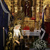 Besando la mano de María Sin pecado Concebida
