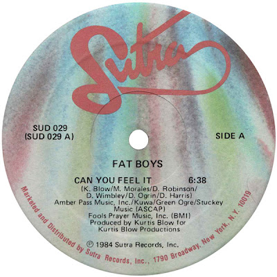 Fat Boys ‎– Can You Feel It (VLS) (1984) (256 kbps)