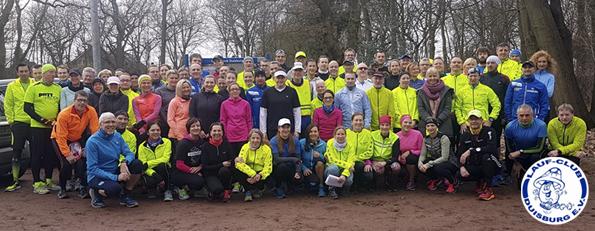 Der LC Duisburg Marathonkurs - Unser Weg zum (ersten) Marathon. www-lc-duisburg.de