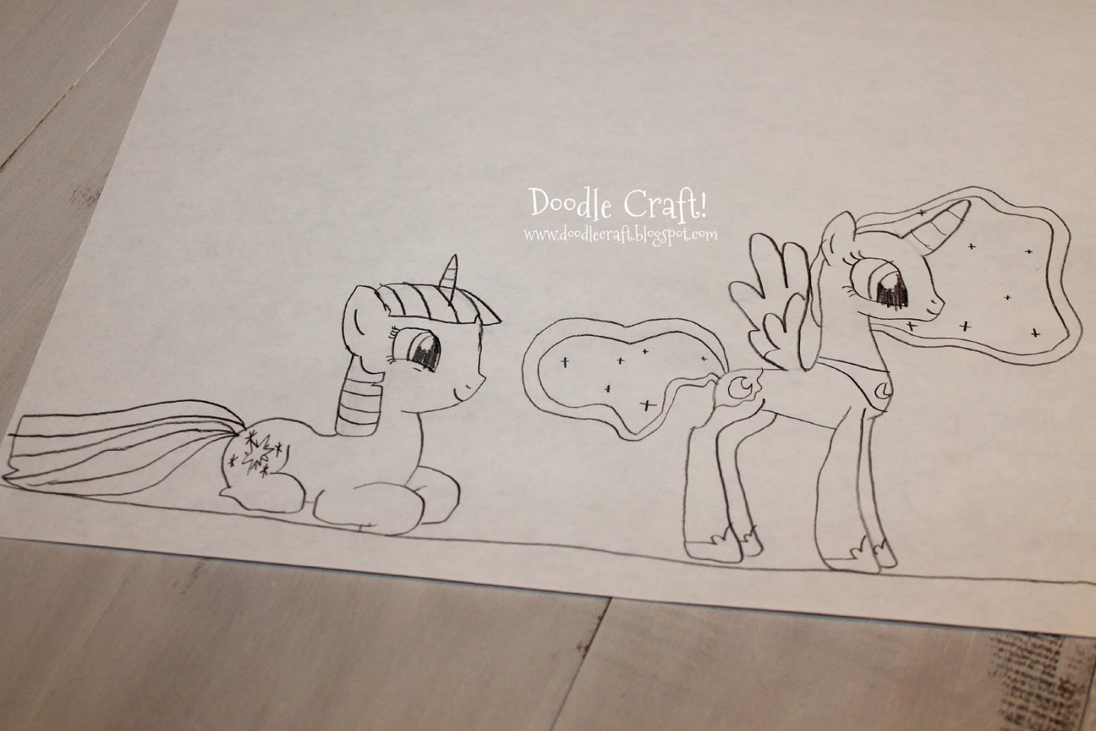 My little pony body drawing doodle craft design and draw your - My Little Pony Body Drawing Doodle Craft Design And Draw Your 8