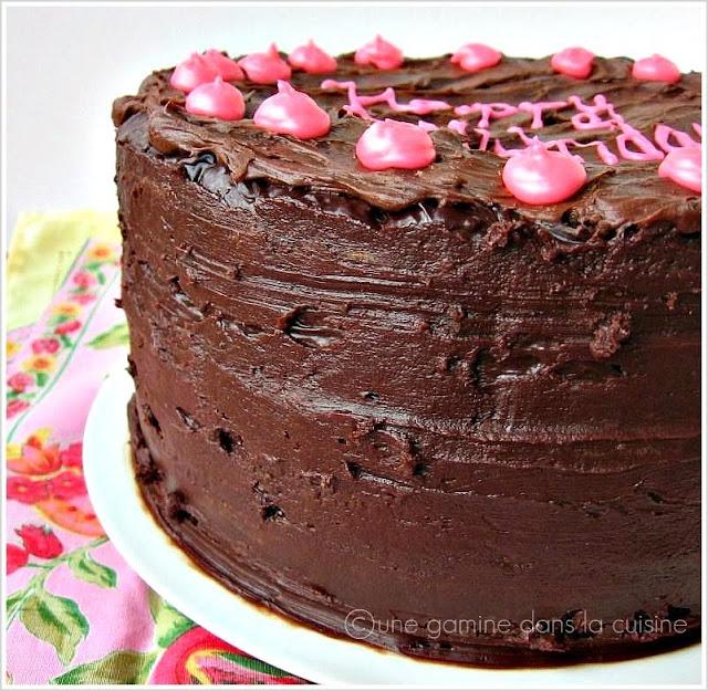 Chocolate Buttermilk Cake Epicurious