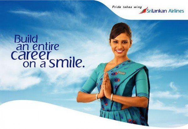 Sri Lankan Airlines Air Hostess