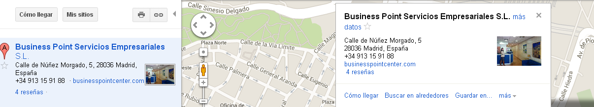 Google+ Local en Google Maps
