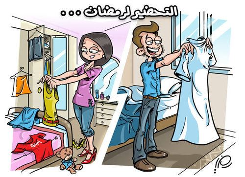 Best Funny Girl Cartoons Images For Ramadan