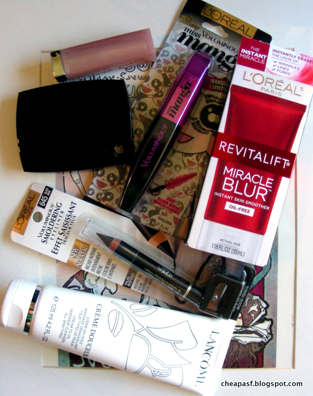 free stuff from L'Oreal