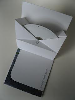 little man designs origami album sleeve
