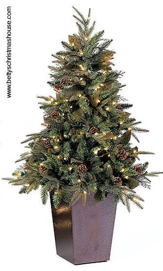 Arquitectura de casas adornos para navidad en interiores - Arbol de navidad exterior ...