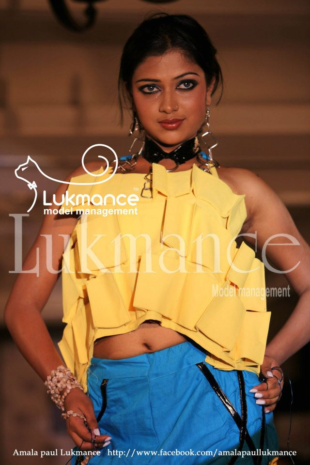 Amala Paul Ramp walk Lukmance Fashion Show