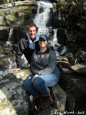 Smokey Mountain National Park, Laurel Falls Portrait