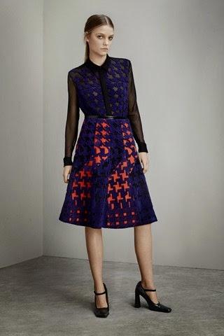 d6e5ec719 Mujeres y Vestidos de Moda  New York con la Ultima Moda de Mary Katrantzou  - Otoño Invierno 2015 2016