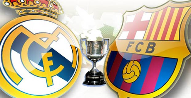 Final de la Copa del Rey, Barcelona vs Real Madrid