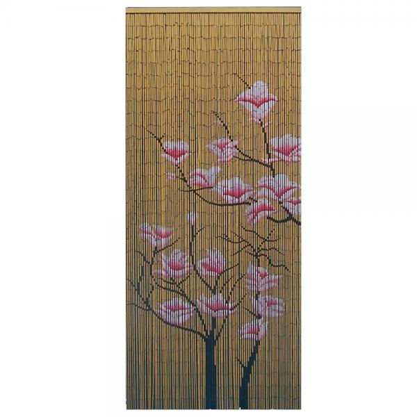Bamboo door curtain bamboo craft photo
