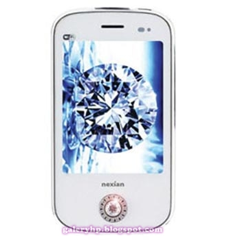 Nexian Princess NX-G889 Mobile Phone Specifications: