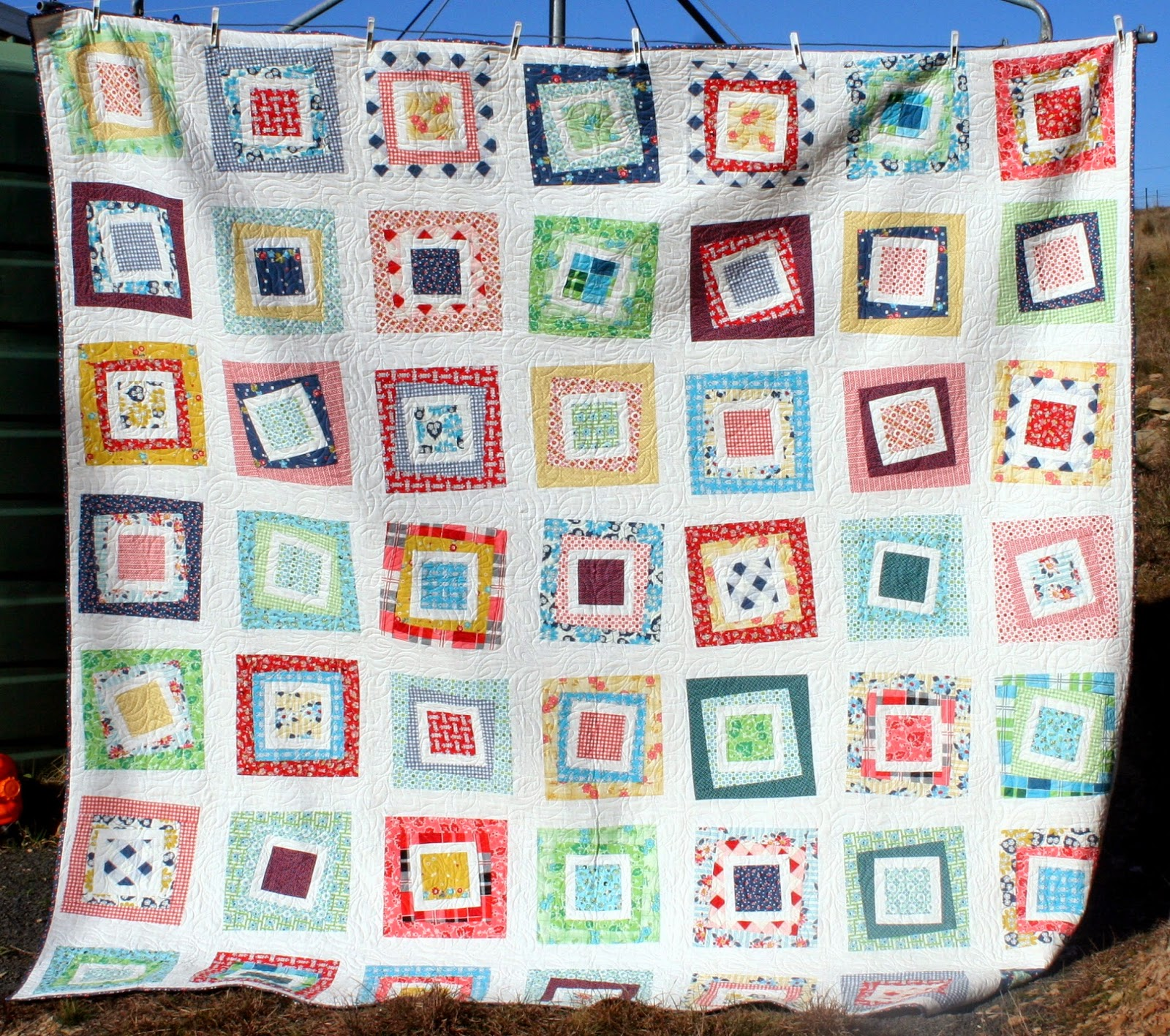 Gone Aussie Quilting: DS Wonky Quilt Finish : wonky quilt - Adamdwight.com