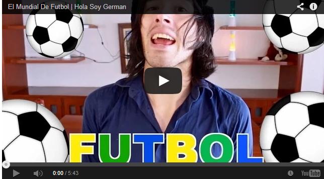 Mundial de futbol al estilo de German