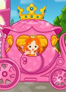 Карета для Золушки - Онлайн игра для девочек