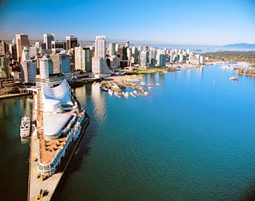 Vancouver, Canada 10 cities to visit in the year 2014