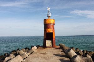 A little lighthouse on Lý Sơn island