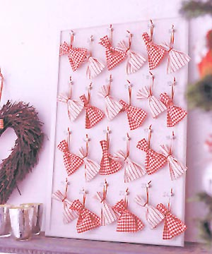 Craft Ideas  Ribbon on Calendar Ideas For Craft This Christmas  Living Rooms Decor Ideas
