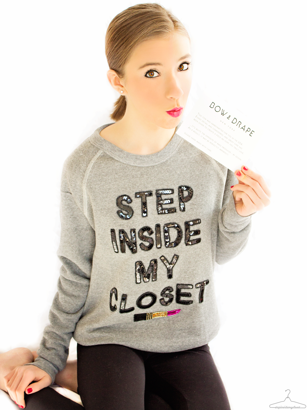 Step Inside My Closet - Fashion Blogger - Bow & Drape, The Shopping Bag, Bella Pierre, H&M, Julep, Revlon, Pacifica Beauty, Smashbox