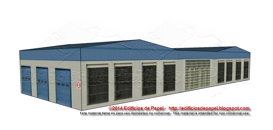 Proposed configuration for your industrial paper model