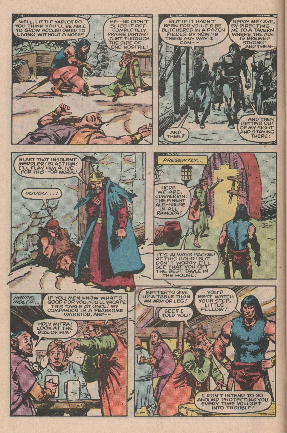 Conan the Barbarian (1970) Issue #155 #167 - English 7
