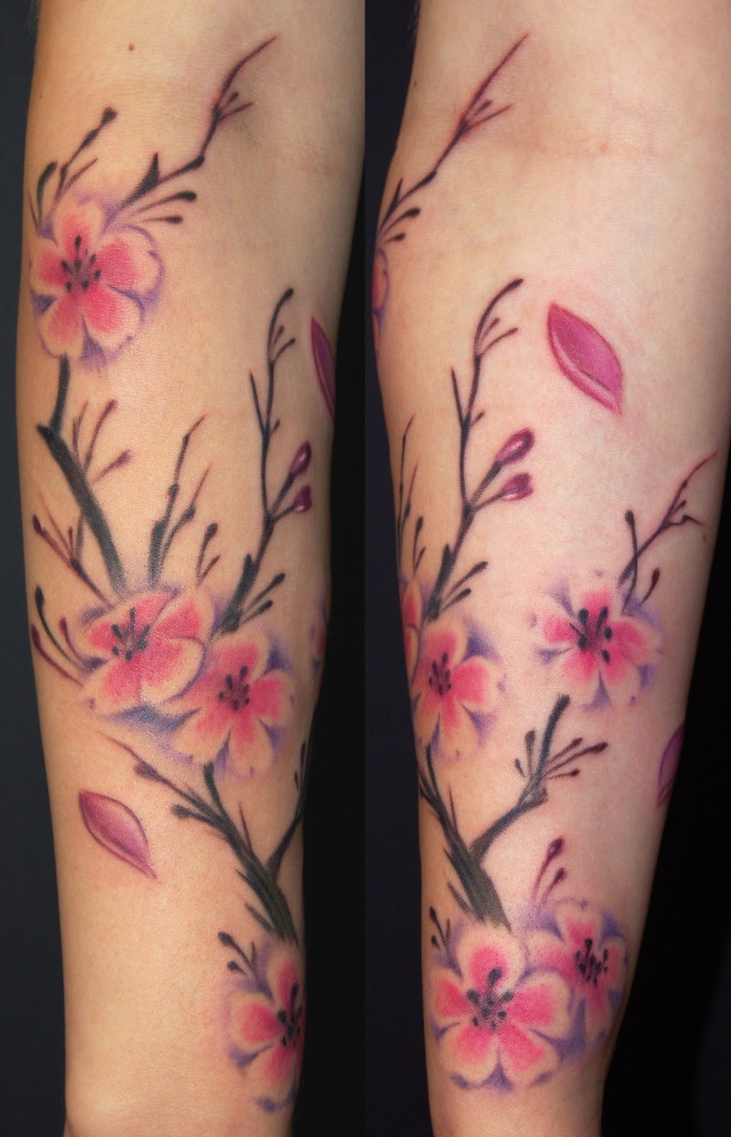 My tattoo designs cherry blossom tree tattoo for Blossom flower tattoo meaning