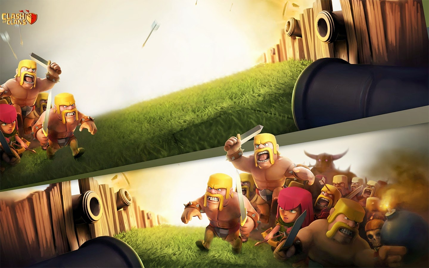 Clash of Clans HD Wallpaper Def