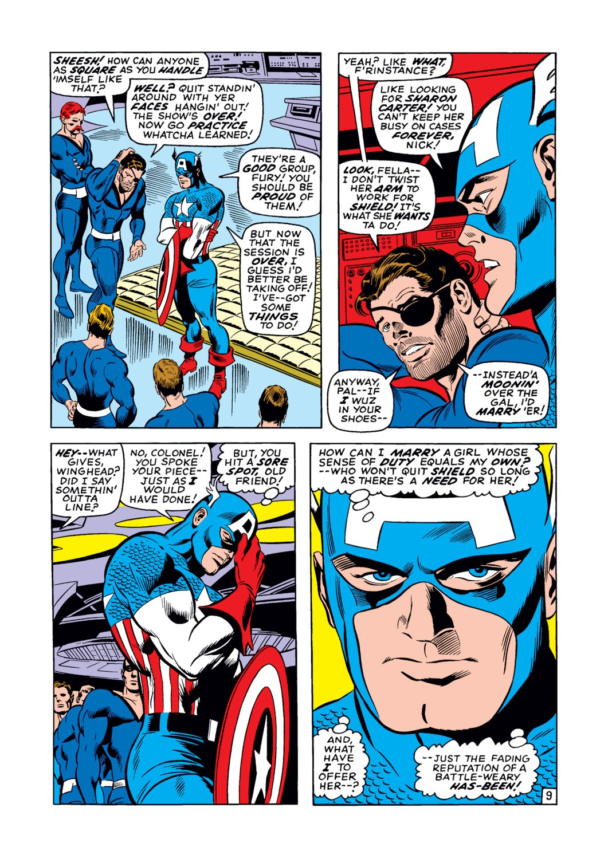 Captain America (1968) Issue #123 #37 - English 10
