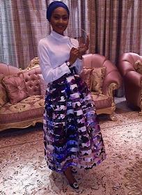 Photos: Zahra Buhari bags award