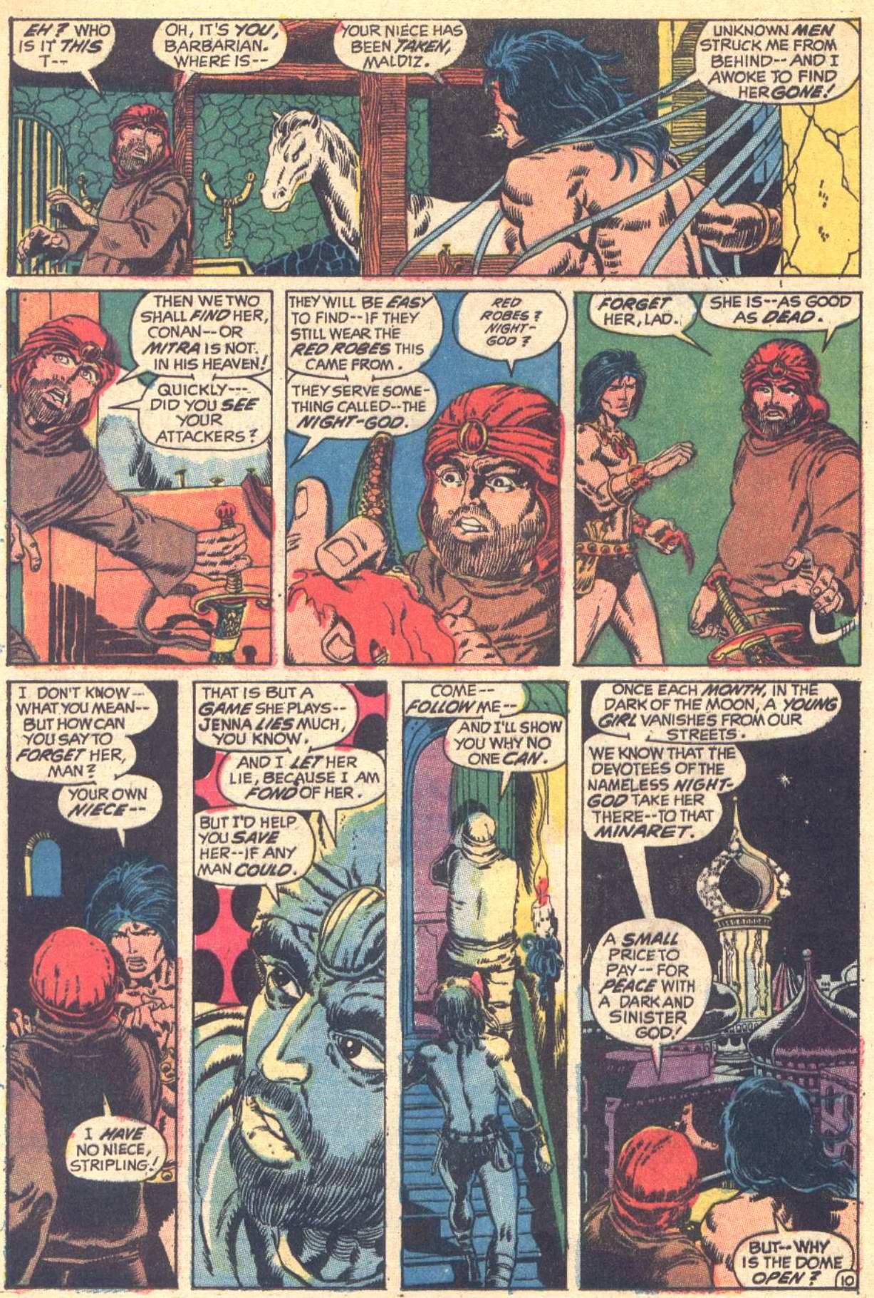 Conan the Barbarian (1970) Issue #6 #18 - English 11
