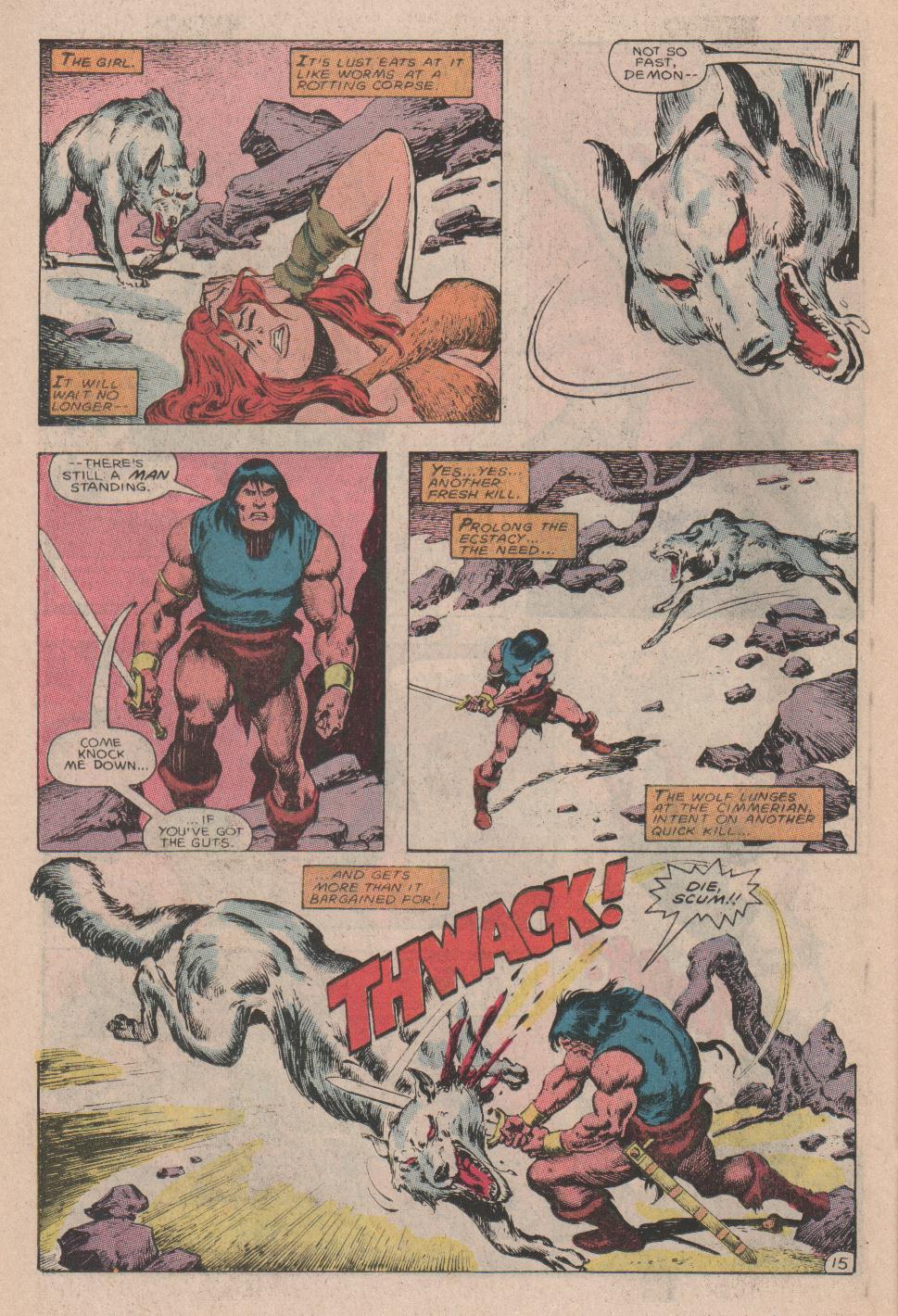 Conan the Barbarian (1970) Issue #178 #190 - English 16
