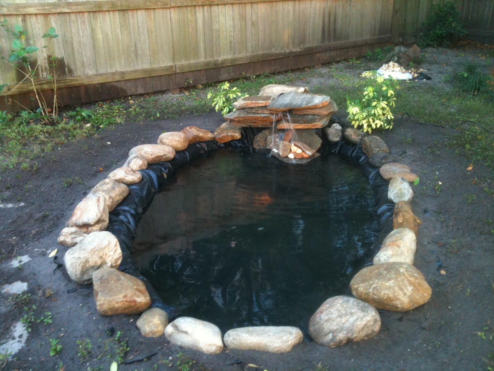 Koi pond construction estimate hampshire pond cleaning for Koi pond builder
