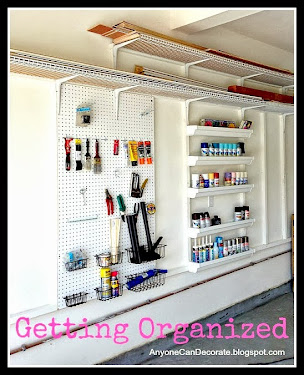 DIY Custom Garage Organizer