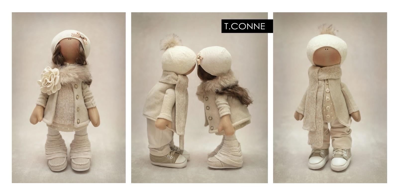 Куклы снежки своими руками