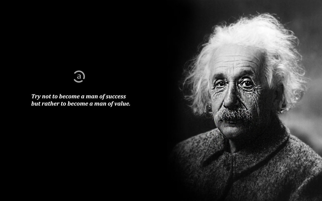 Citaten Albert Einstein Hati : Solitude