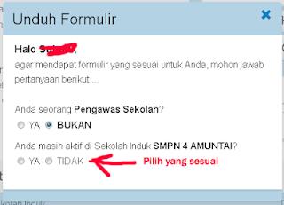 Cara Download Formulir VerVal NUPTK 2013 - 4