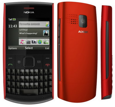 Firmware Nokia X2-01 RM-709 Version 08.70