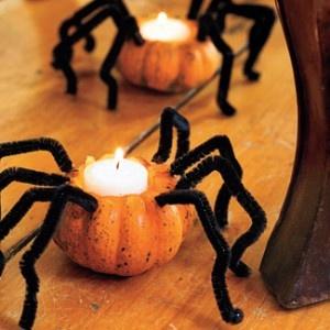 spider pumpkins, genial!