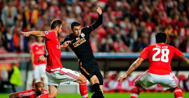 Hasil laga Benfica 2-1 Galatasaray