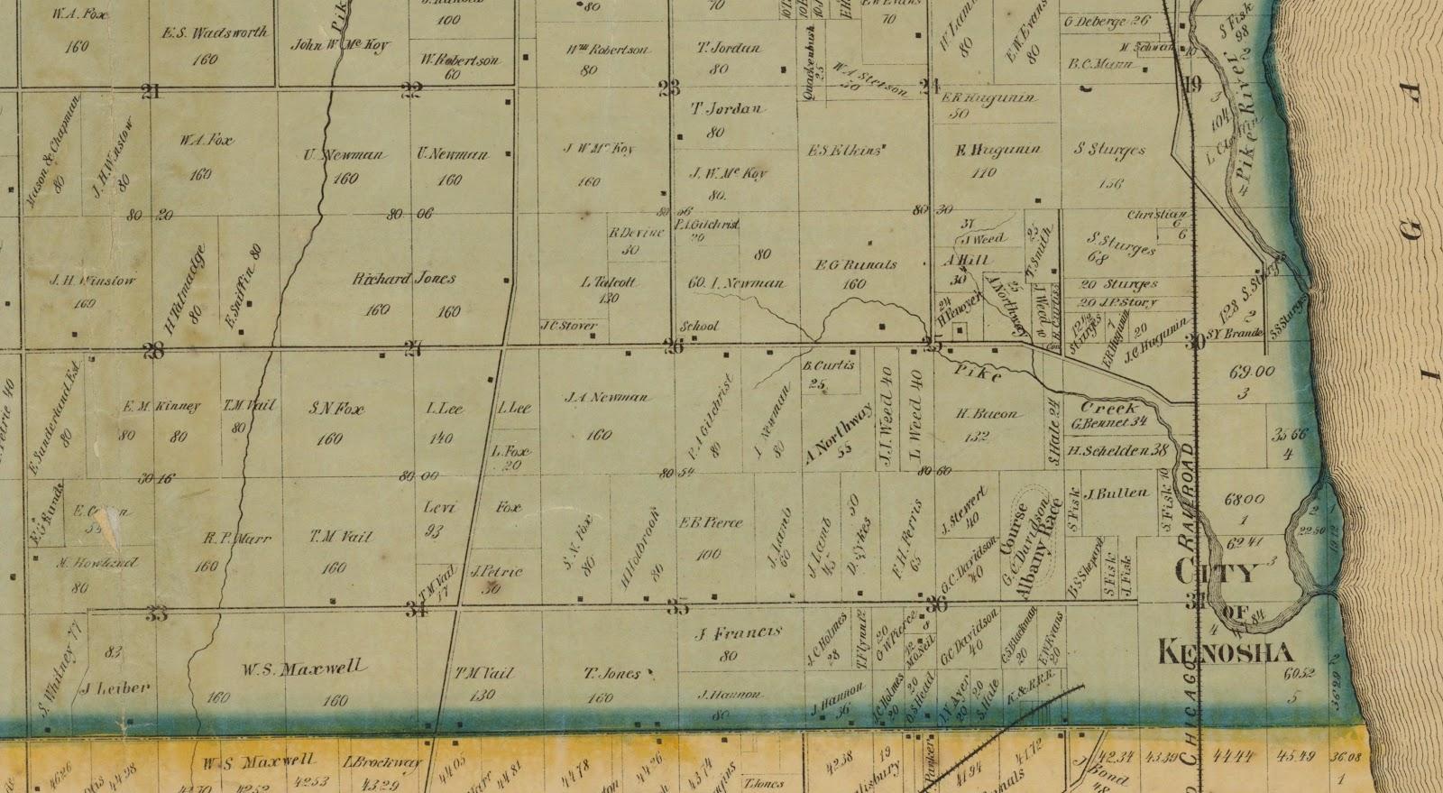 history of kenosha county