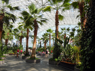 Crystal Gardens at the Navy Pier in downtown Chicago, Illinois