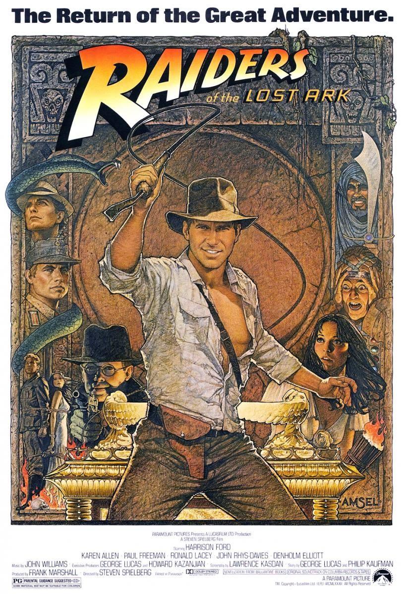 Indiana Jones, en busca del Arca Perdida